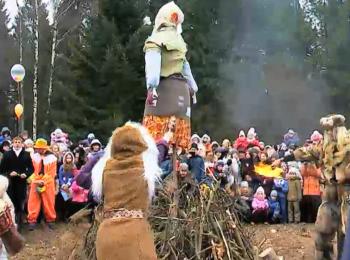 Широкими народными гуляньями белорусы отмечают Коляду масленую